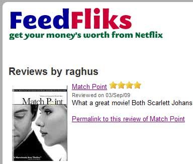Movie Reviews Page
